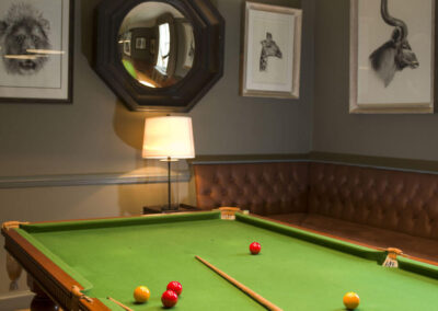 Photo of the Billiards Room at 10 Castle Street