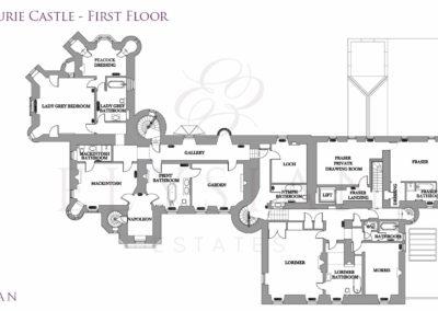 Aldourie-Castle-Floor-Plan-First
