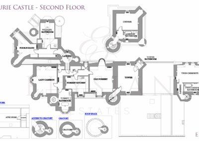 Aldourie-Castle-Floor-Plan-Second