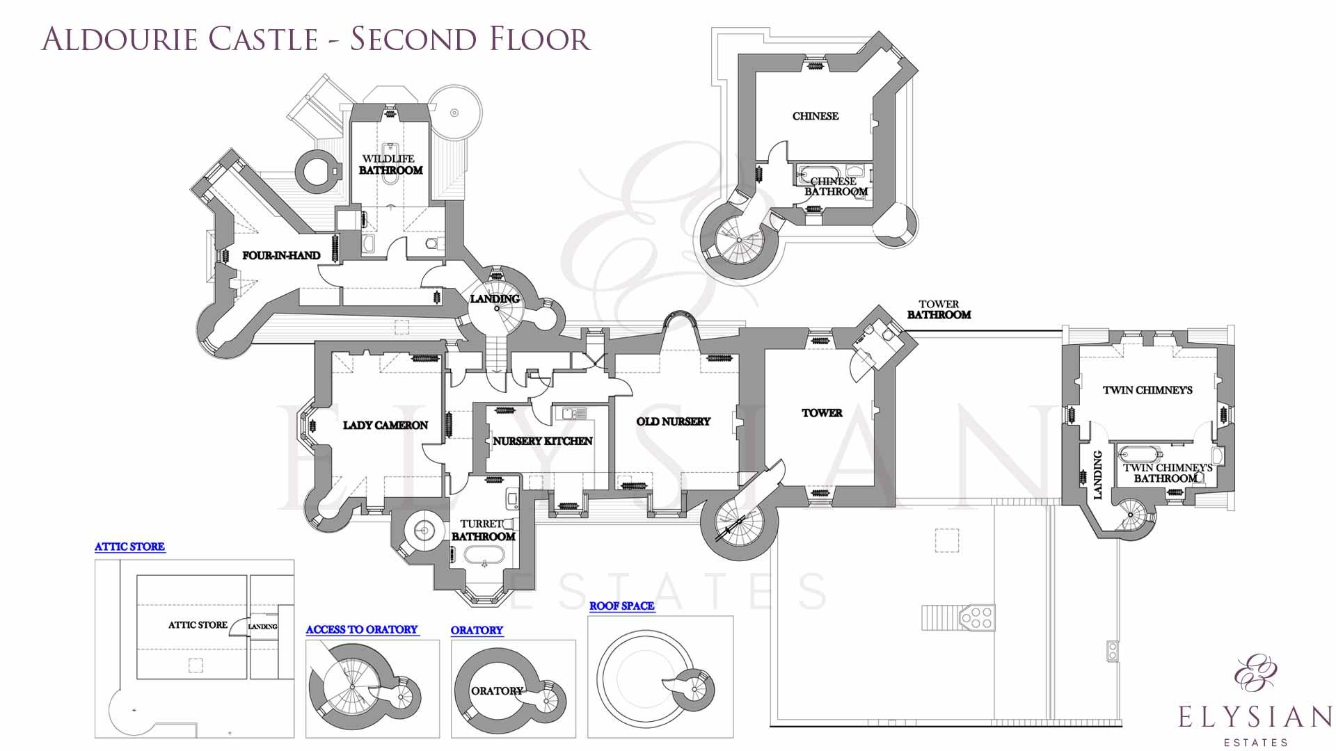 Ardverikie House Floor Plan Sophisticated