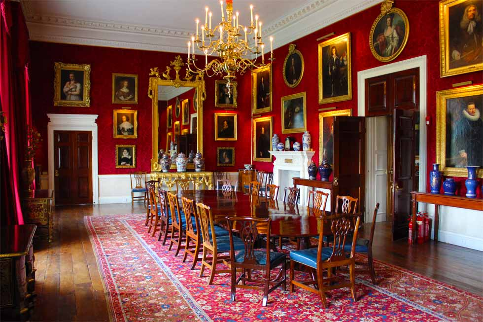 Photo of one of the dining options at Althorp