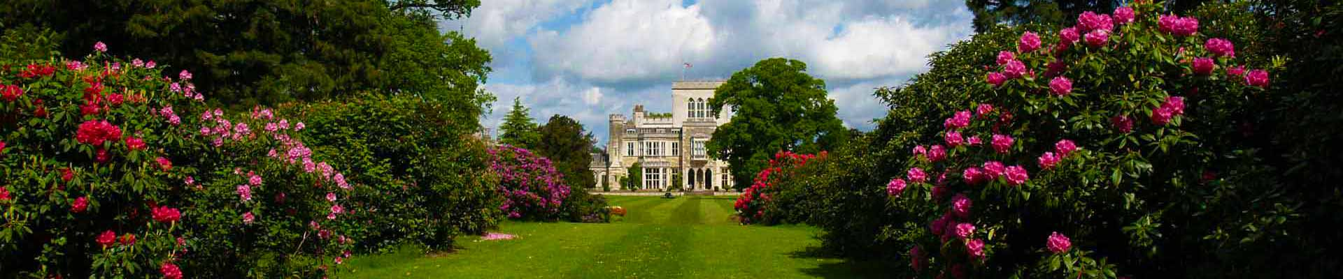 Photo of the gardens at Ashridge House
