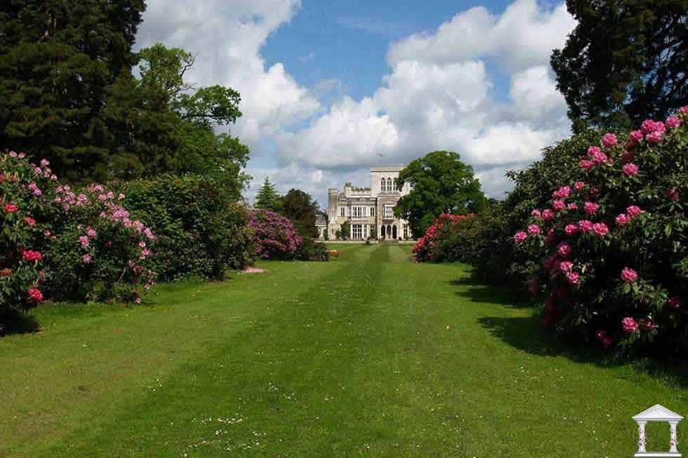The beautiful gardens of Ashridge House