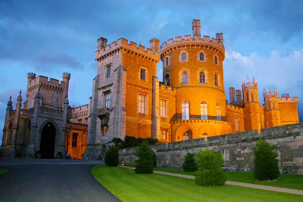 One of Belvoir Castles stunning rooms