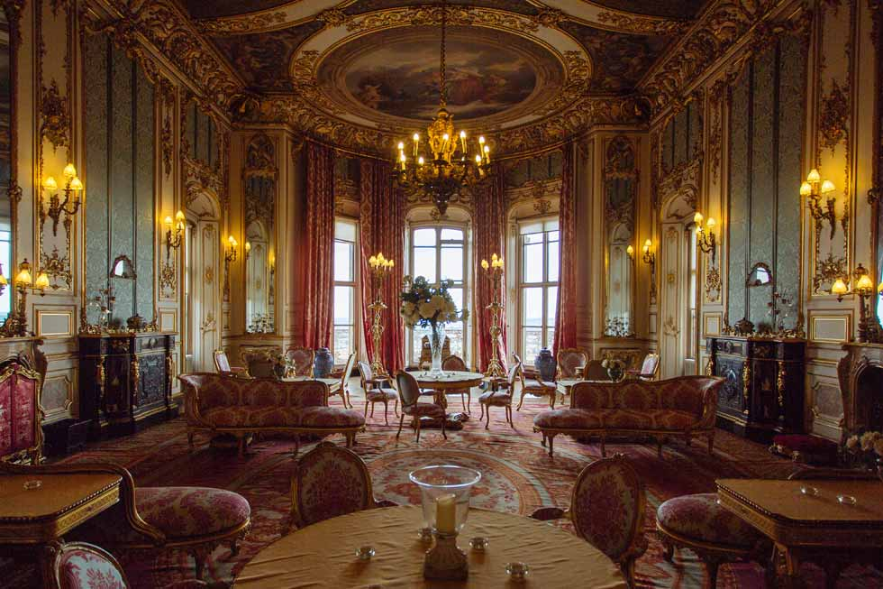 One of the beautiful rooms of Belvoir Castle
