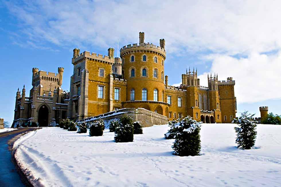Belvoir Castles grand entrance