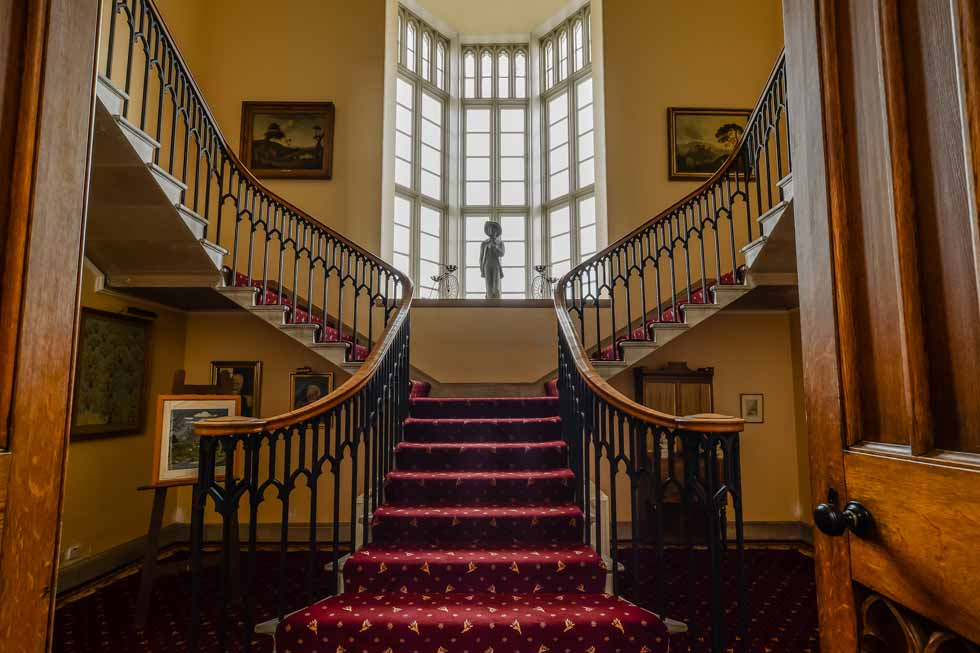 Photo of Blairquhan Castle main staircase