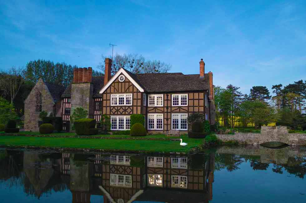 Brinsop Court on the lake