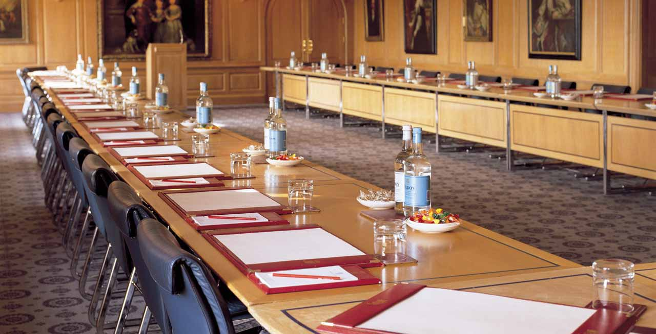 Brocket Hall is an ideal place to host a meeting or corporate event