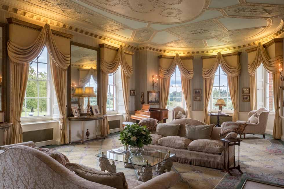 One of the stunning rooms at Byron Court