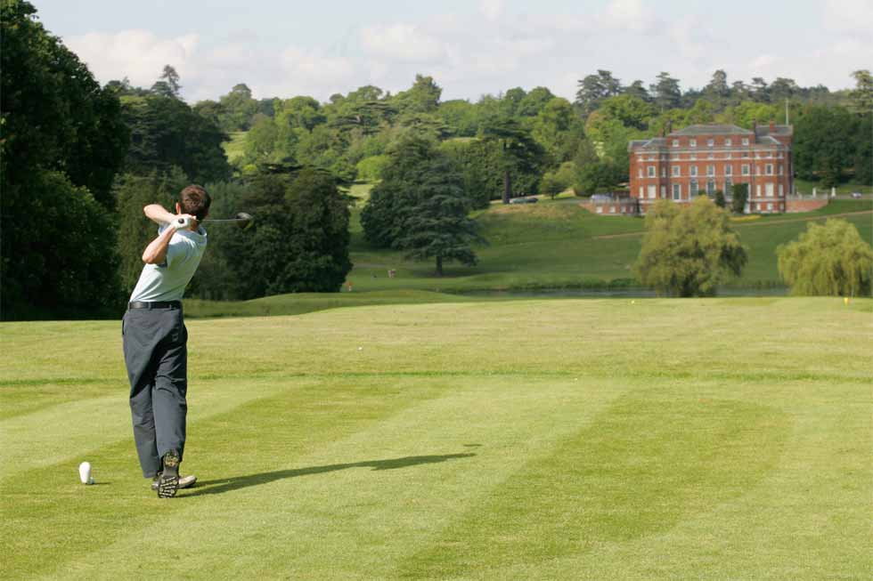 Enjoy a round of Golf at Brocket Hall
