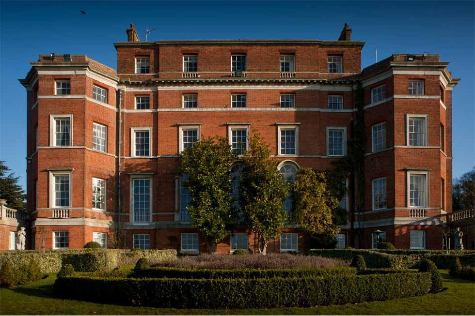 Brocket Hall looking stunning
