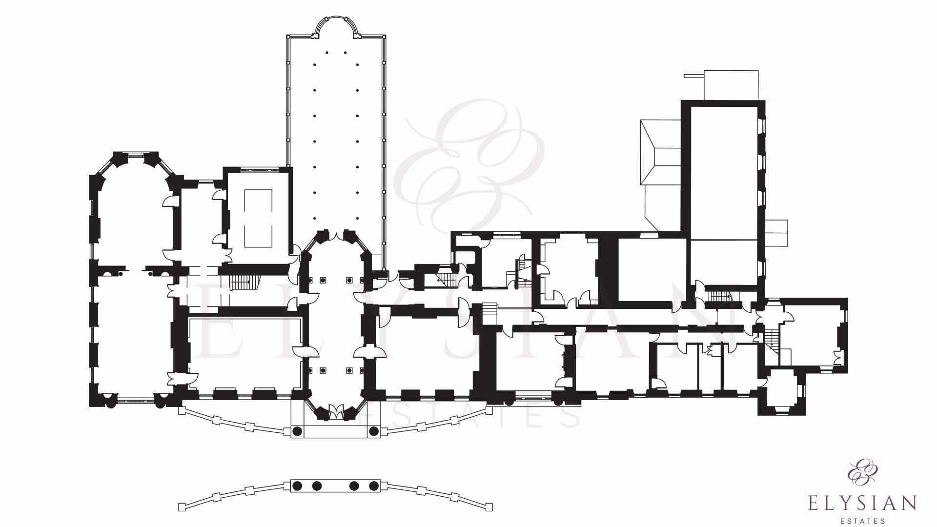 Broughton hall floor plan upper ground jpg 1500x1004 floorplan pinterest architecture plan and architecture
