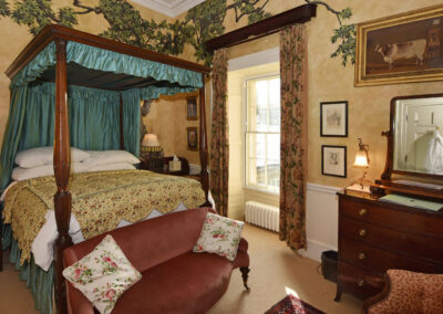 Photo of the Buff Bedroom at Broughton Hall
