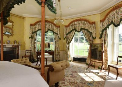 Photo of the Bow Bedroom at Broughton Hall