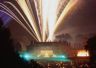 Photo of the fireworks at Broughton Hall