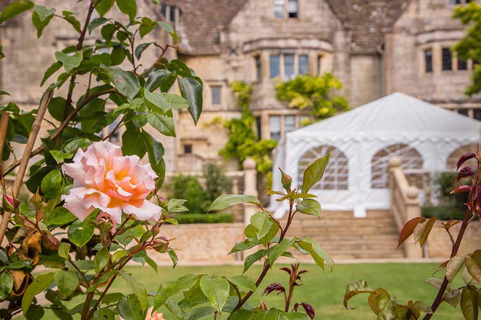 Painswick Hall gardens