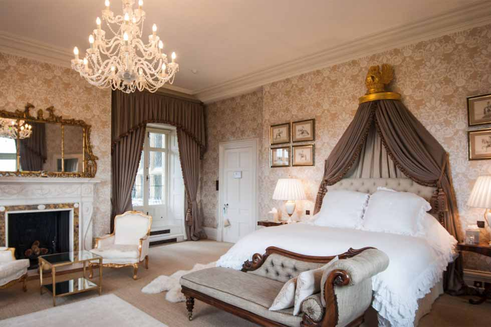 Photo of the Diamond bedroom suite at Cowdray House