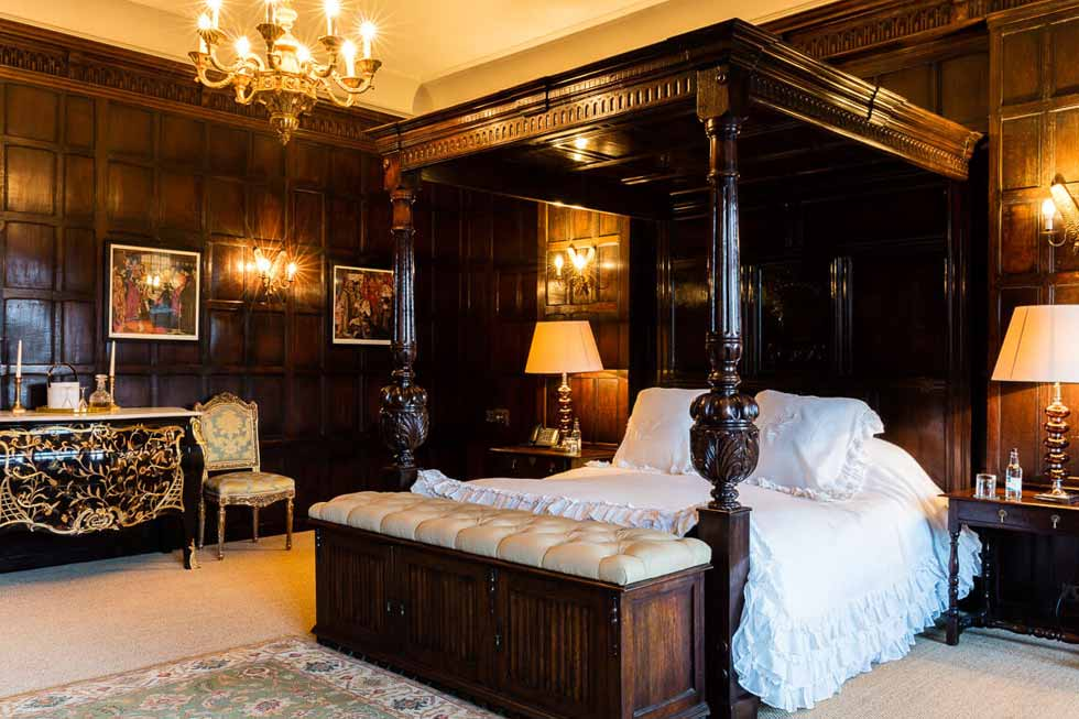 Photo of the Golden Topaz bedroom suite at Cowdray House