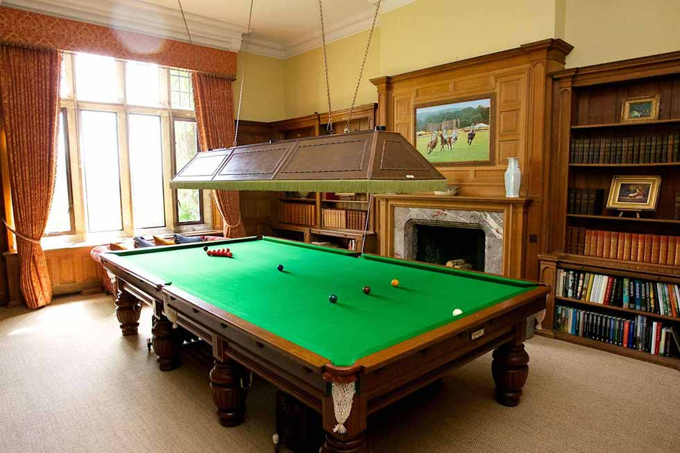 Baronial Court' full sized snooker table