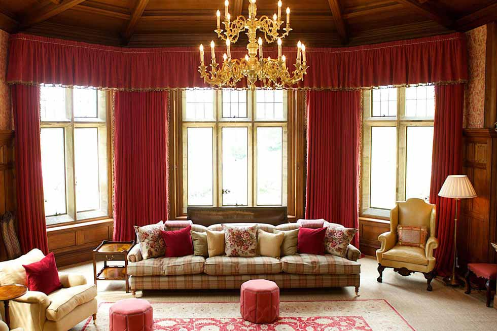 Cowdray House's stunning lounge