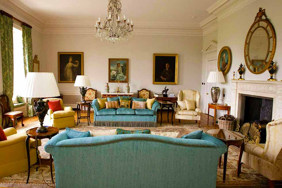 Photo of one of the lounges at Cowdray House