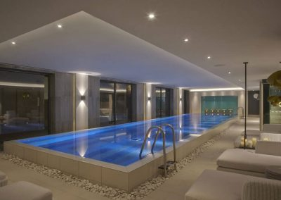 Photo of the health spa at Dormy House