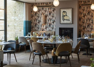 Photo of one of the dining options at Dormy House