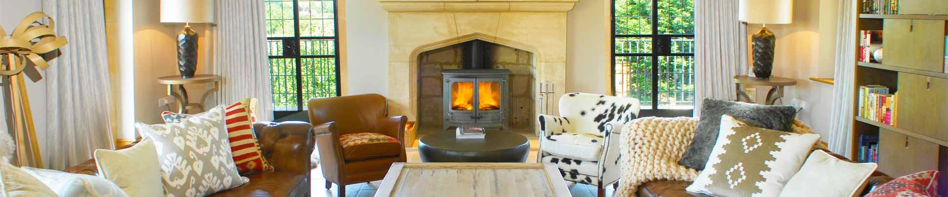 Photo of Elkstones fireplace