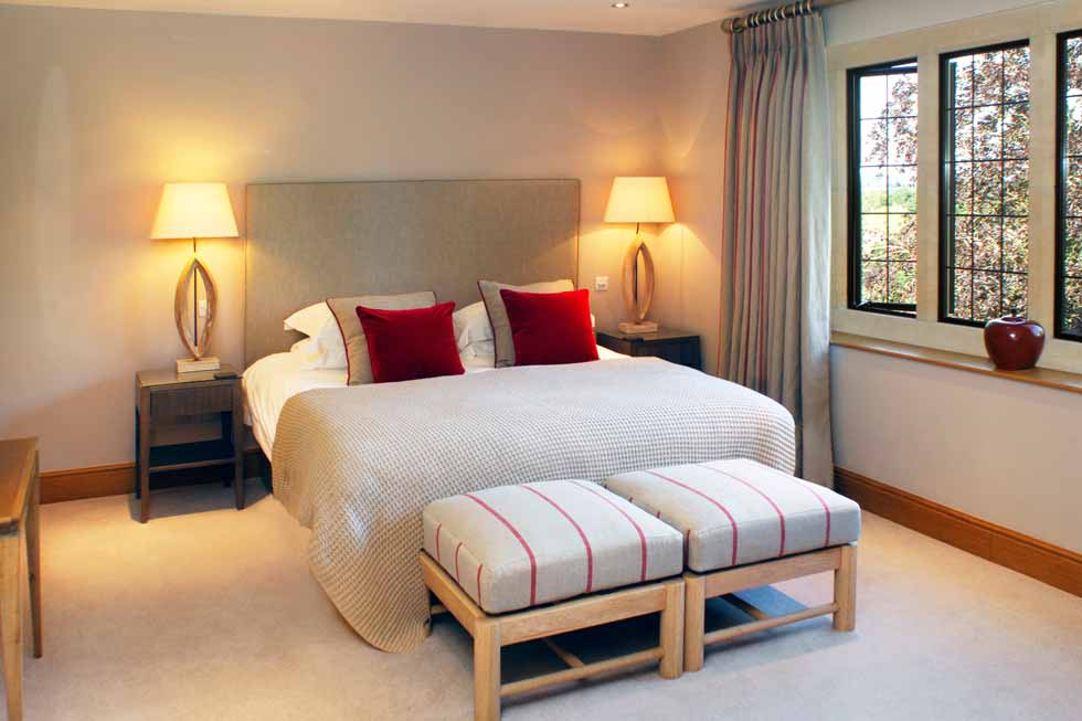 Photo of another stunning bedroom suite at Elkstones