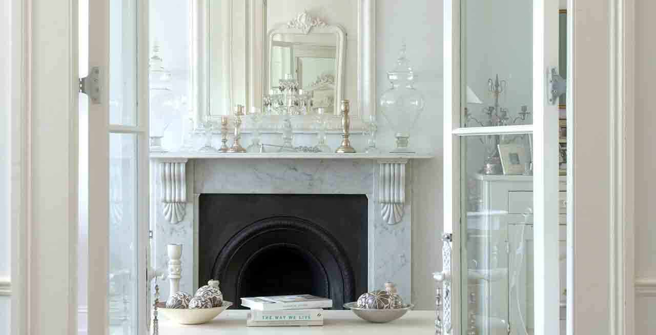Elmbourne House fireplace
