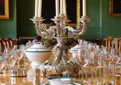 Photo of the dining room at Farleigh Wallop