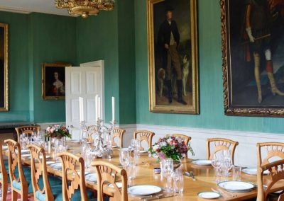 Photo of one of the dining rooms at Farleigh House