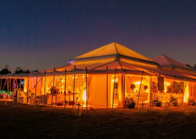 Photo of a marquee at Farleigh House