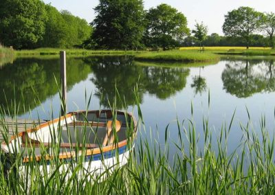 Photo of the Farleigh Wallop lake