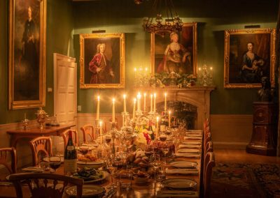 Photo of the dining room at Farleigh House