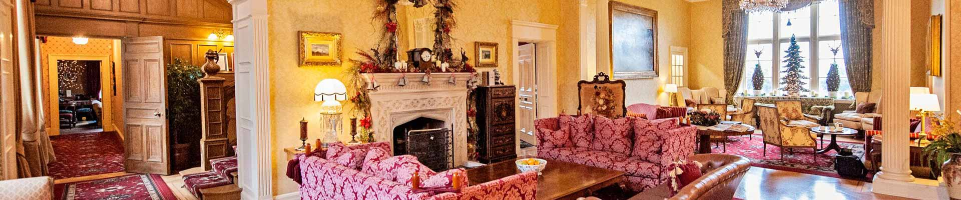 Photo of Glenapp Castle's lounge