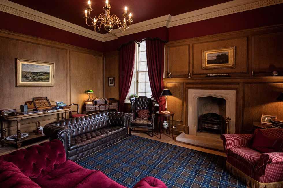 Photo of Glenapp Castles library