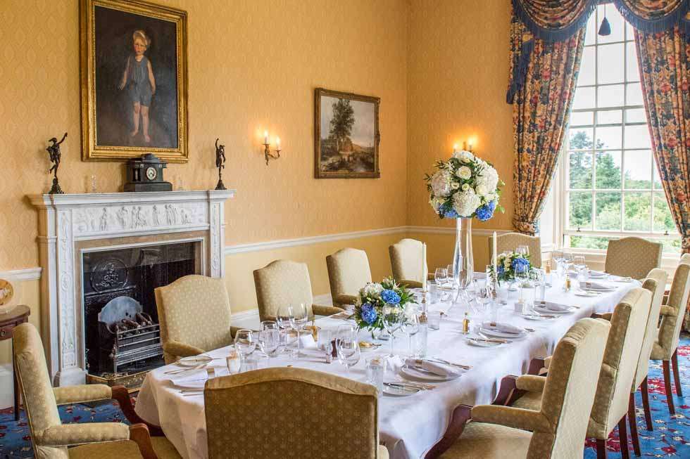 Photo of another option for your private dining at Glenapp Castle