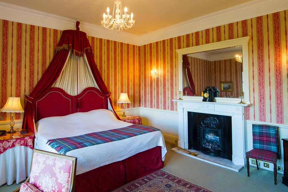 Photo of the Bryce bedroom suite at Glenapp Castle