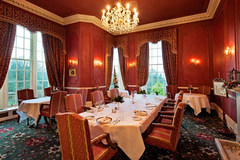 Photo of the Colquhoun Dining Room at Glenapp Castle