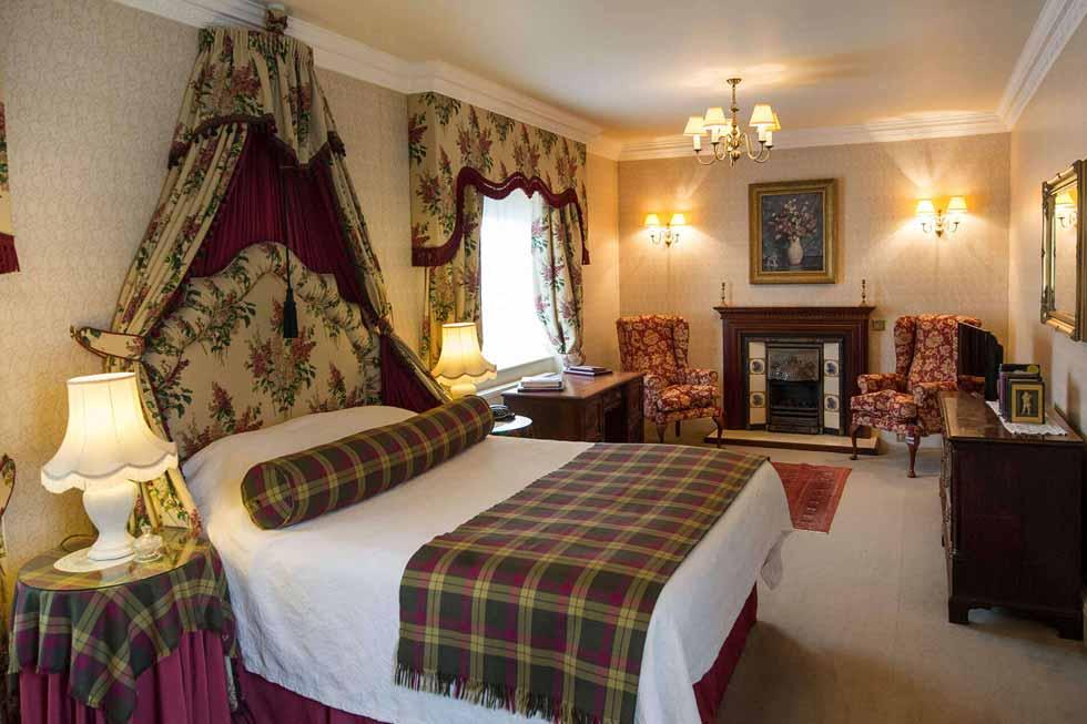 Photo of the Altimeg bedroom suite at Glenapp Castle