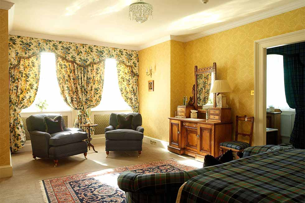 Photo of the Kilantringan bedroom suite at Glenapp Castle