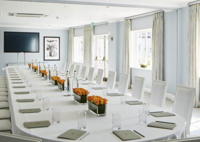 Photo of one of the boardrooms at Goodwood Hotel