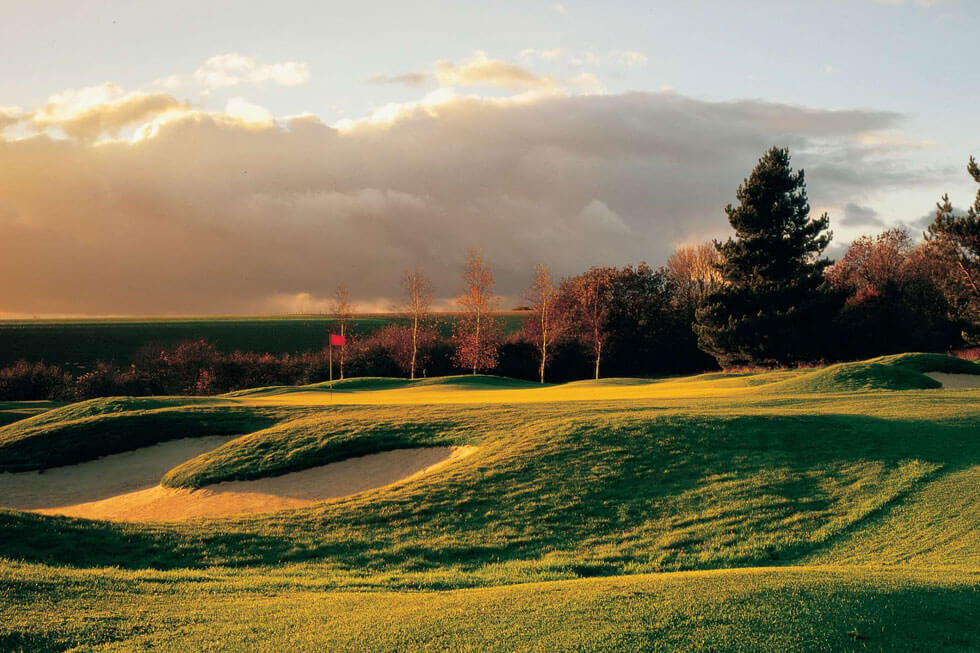 Photo of the golf course at Goodwood's Hound Lodge