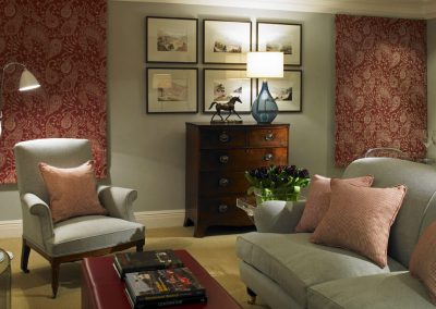 Photo of the bedroom suite lounge areas in Goodwood Hotel