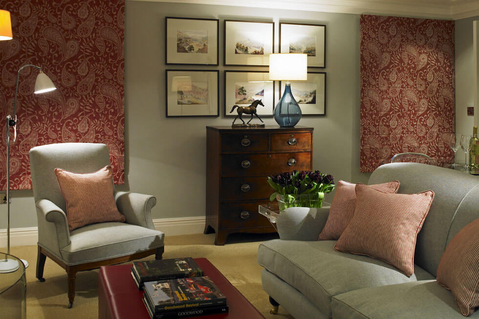 Photo of the lounge in Goodwood Hotel bedroom suite