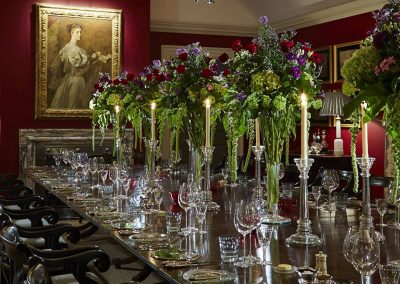 Photo of the dining room at Goodwood's Hound Lodge