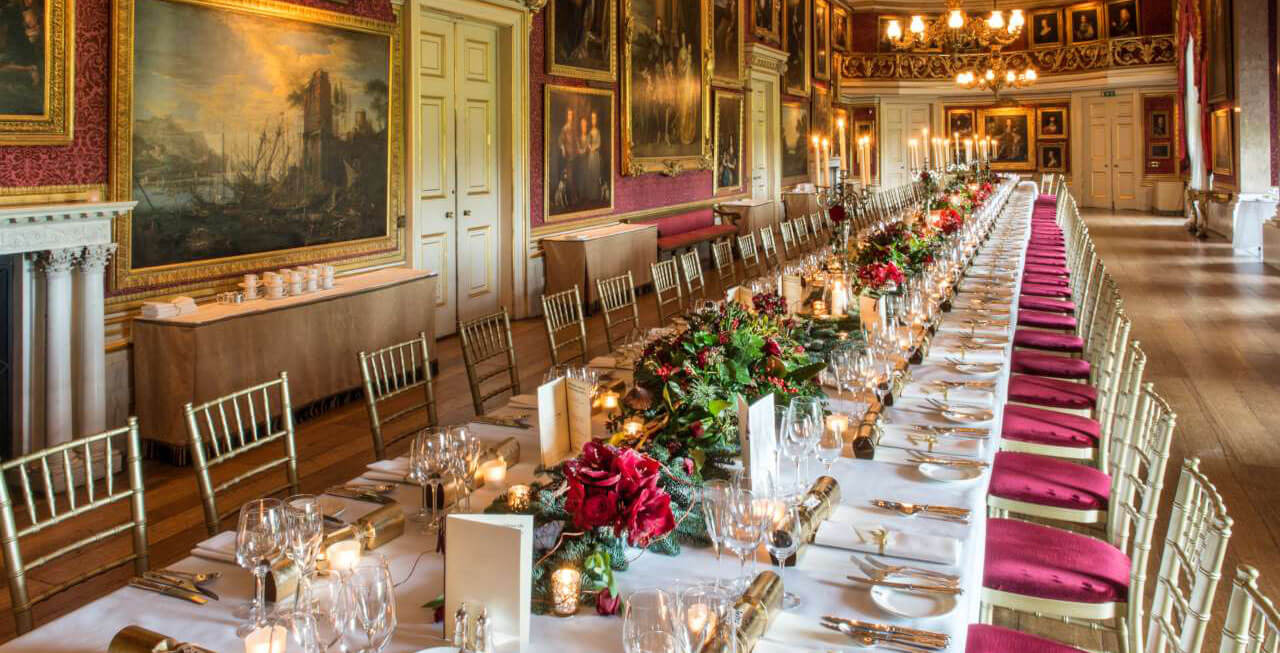 Photo of the main dining room at Goodwood House