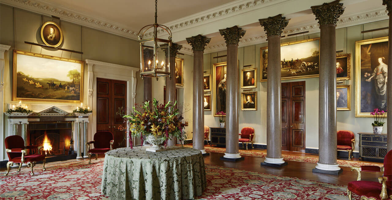 Photo of the Front hall of Goodwood House